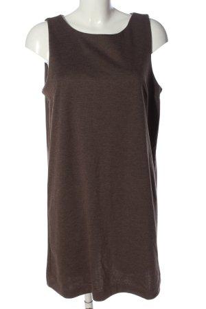 H&M Basic Abito felpa marrone puntinato stile casual