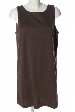 H&M Basic Sweatkleid braun meliert Casual-Look