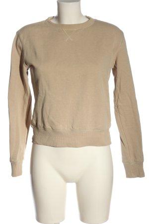 H&M Basic Sweatshirt creme Casual-Look