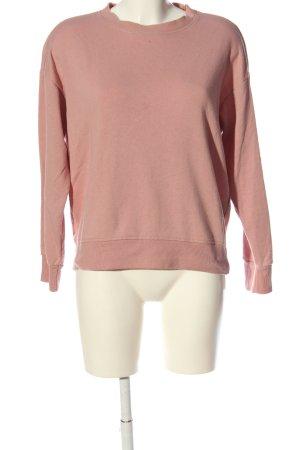 H&M Basic Sweatshirt pink Casual-Look