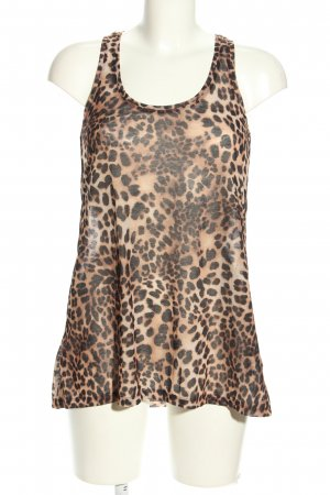 H&M Basic Tanktop Allover-Druck Casual-Look