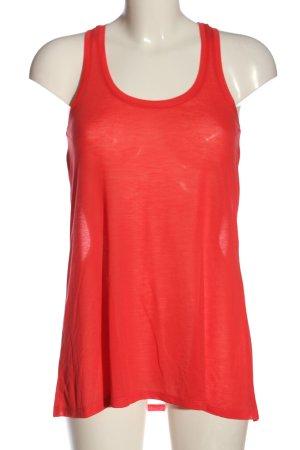 H&M Basic Tanktop rot Casual-Look