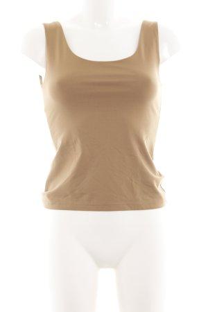 H&M Basic topje nude zakelijke stijl