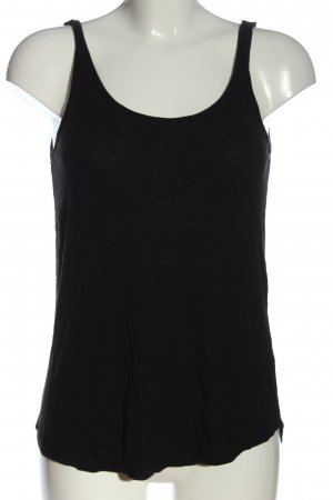 H&M Basic topje zwart simpele stijl