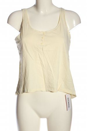 H&M Basic Top creme Casual-Look