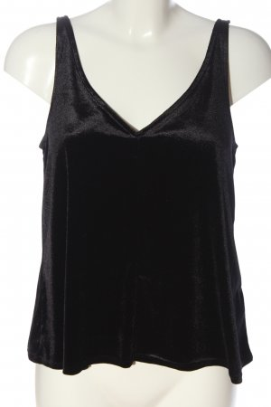 H&M Basic Top schwarz Casual-Look