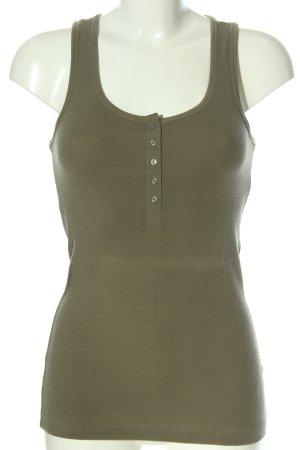 H&M Basic Top khaki Casual-Look
