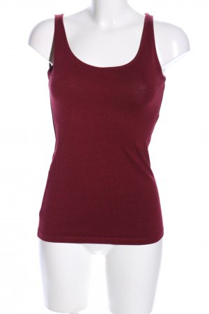 H&M Basic topje rood casual uitstraling