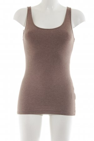 H&M Basic Top bronzefarben Casual-Look