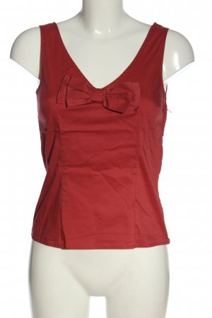 H&M Basic Top rot Casual-Look