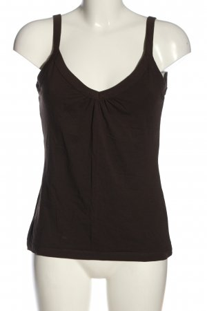 H&M Basic topje bruin casual uitstraling