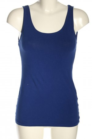 H&M Basic Top blau Casual-Look