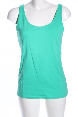 H&M Basic topje turkoois casual uitstraling