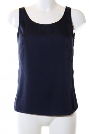 H&M Basic topje blauw casual uitstraling