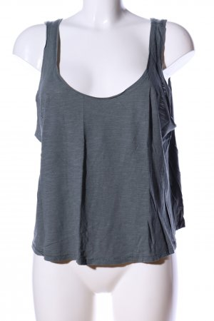 H&M Basic Top khaki flecked casual look
