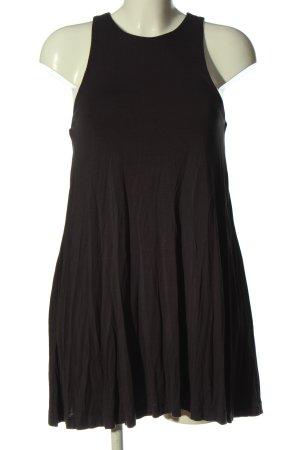 H&M Basic Trägerkleid schwarz Casual-Look