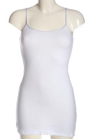 H&M Basic Trägertop weiß Casual-Look