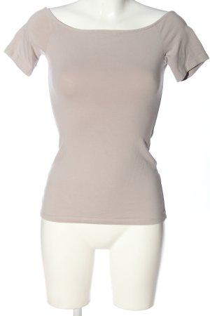 H&M Basic Carmen shirt wolwit casual uitstraling