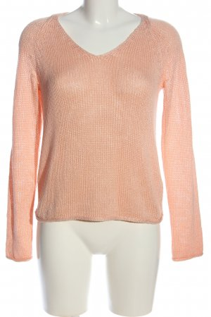 H&M Basic V-Ausschnitt-Pullover nude Casual-Look