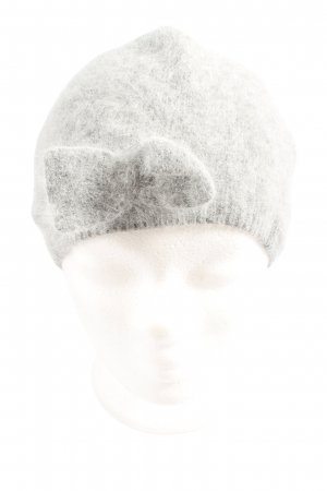 H&M Béret gris clair style décontracté