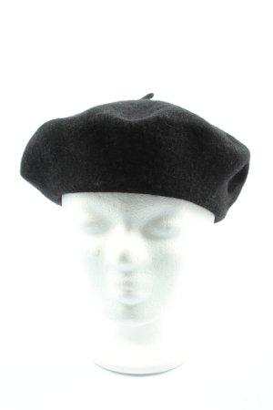 H&M Beret black casual look