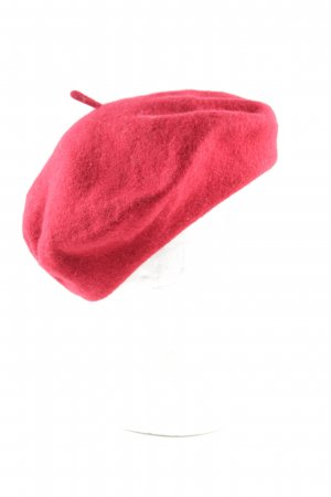 H&M Baskenmütze rot Casual-Look