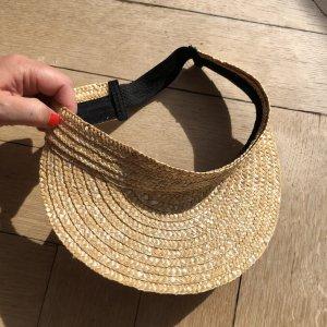 H&M Sun Hat beige-black
