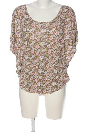 H&M Batik shirt volledige print casual uitstraling