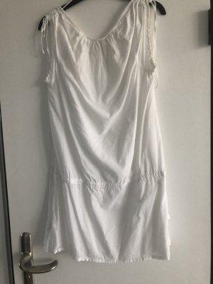 H&M Baumwollstrandkleid in weiß