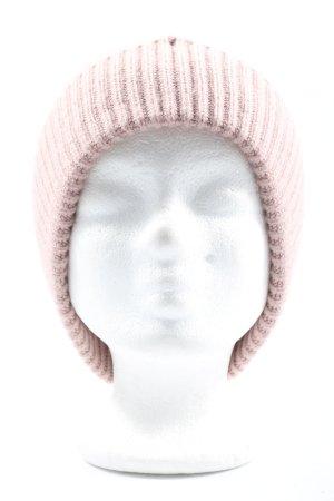 H&M Gorro rosa look casual