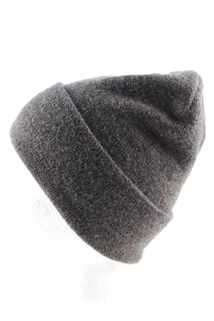H&M Beanie light grey flecked casual look