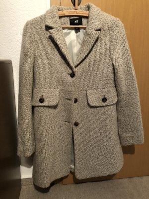 H&M beige eleganter Mantel.