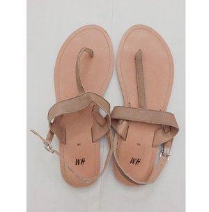 H&M beigebraune Sandalen