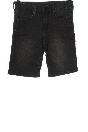 H&M Bermuda schwarz Casual-Look