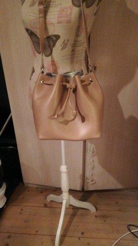H&M Beutel Tasche braun Rose neu