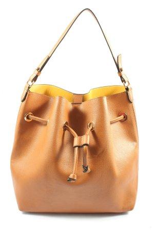 H&M Torebka typu worek jasny pomarańczowy W stylu casual