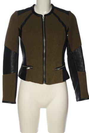 H&M Bikerjacke braun-schwarz Casual-Look