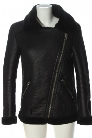 H&M Biker Jacket black casual look