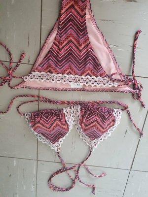 H&M Bikini Wielokolorowy