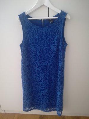 H&M Blaues Spitzenkleid Größe XS