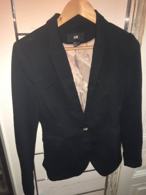 H&M Tuxedo Blazer black-rose-gold-coloured