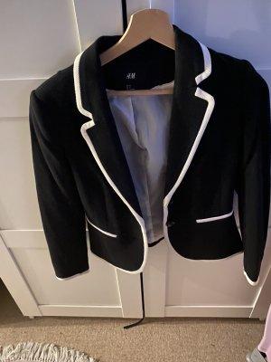 H&M Klassischer Blazer negro