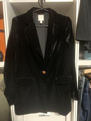 H&M Blazer Boyfriend negro