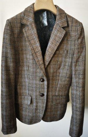 H&M Short Blazer azure-grey brown