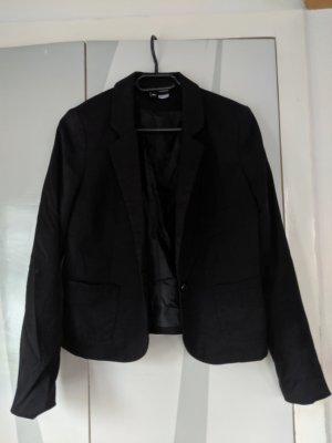 H&M Blazer Basic Gr. 36 schwarz