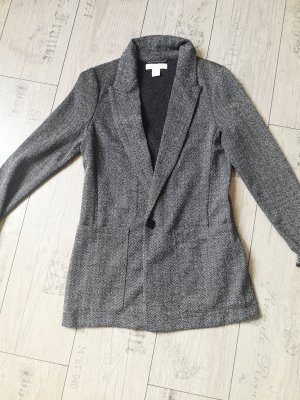 H&M Sweatblazer grijs