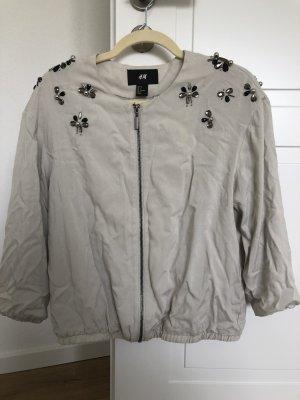 H&M Blouson bianco sporco-grigio chiaro