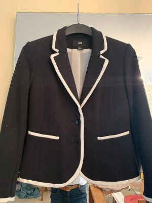 H&M Blazer dunkelblau weiss Gr. 38 neu