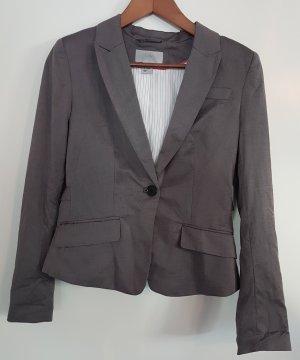 H&M Blazer, dunkelgrau, Größe 36, Businesslook