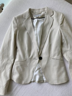 H&M Boyfriend Blazer cream-natural white